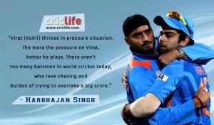Harbhajan Singh: Virat Kohli can chase down any total