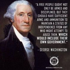 Great quote on the 2nd Amendment of the United States Constitution by ...