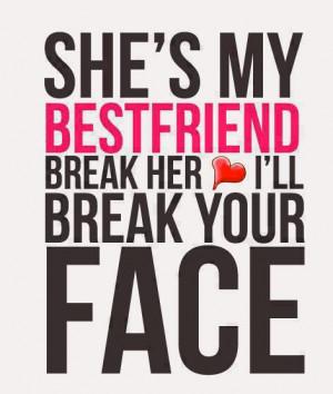 She's My Bestfriend…