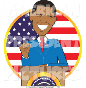 American President Clip Art