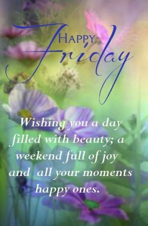 Happy Friday Quote