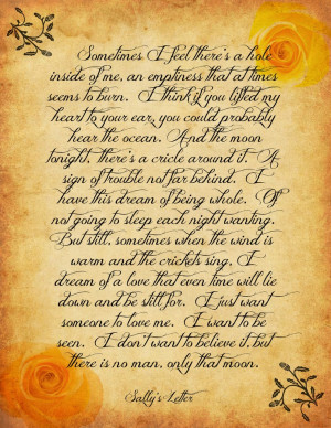 Practical Magic Quotes Practical magic sally's letter