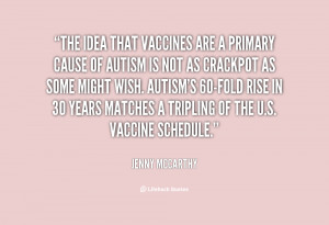 Jenny McCarthy Vaccine Quotes