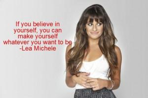 Lea Michele quote ️