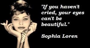 Sophia loren famous quotes 5