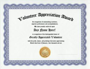 Appreciation Awards, Volunteer Appreciation, Offices Awards, Fully ...
