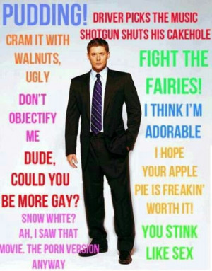 Quotes from Dean