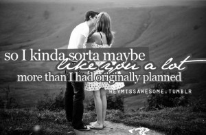 so I kinda sorta maybe like you a LOT more that I had originally ...