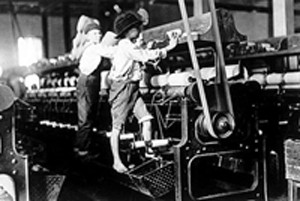 new workforce during the Industrial Revolution