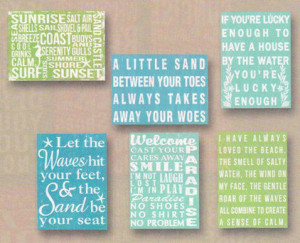 Guest Picks: Express Yourself With a Beach Sign