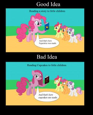 Good Idea, Bad Idea: Pinkie Pie by animegx43