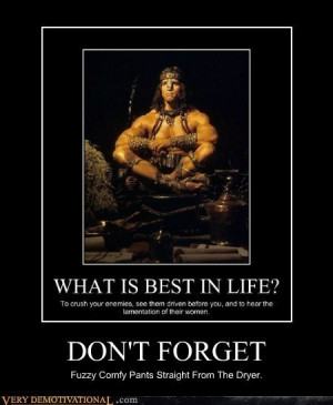 CONAN THE BARBARIANS QUOTES