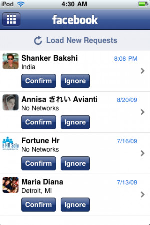 Friend Requests Facebook View Png · facebook-30-app-friends-