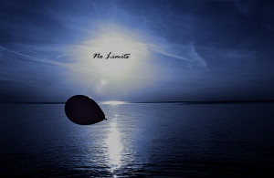No Limits Print by Celestial Blue