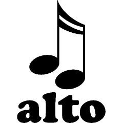 Alto Music Notes