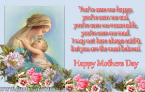 happy mothers day 2013 cute Cutest Happy mothers day 2013 quotes ...