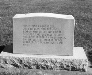 headstone saying quote or epitaph is an inscription on a tombstone ...