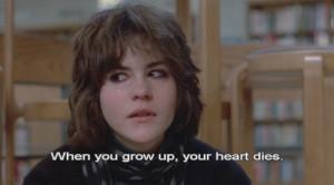 allison, ally sheedy, dies, girl, grow up, heart
