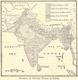 Imperialism on the Indian subcontinent: British control of India, the ...