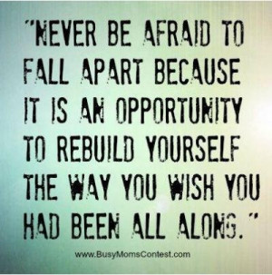Fall Apart Quotes About Life