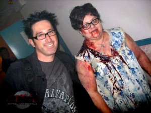 Zombie J. LaRose is reunited with his SAW director Darren Lynn Bousman ...