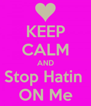 ... well ppl on here hate me nd i cant get 2 u ppl tht i am real