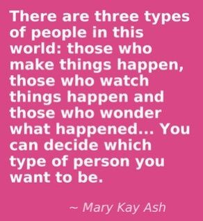 MARY KAY ASH! I bet you might know which one I am! www.marykay.com ...