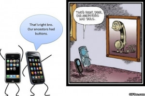 Cell Phone Ancestors