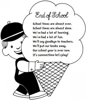END OF SCHOOL (poem)