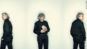 Steven pinker: 'we don't throw virgins into volcanoes any more'