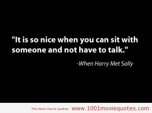 When Harry Met Sally... (1989) - movie quote