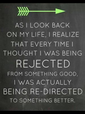 Redirection quote