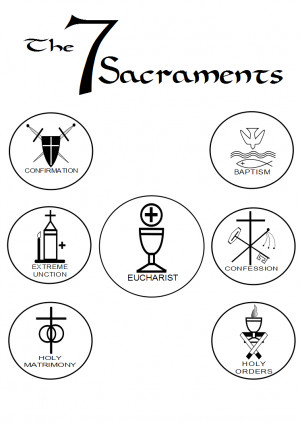 roman catholics have 7 sacraments a sacrament according to the ...