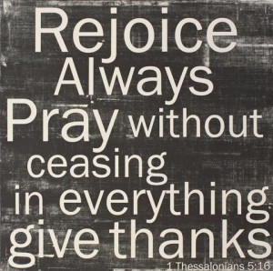 Pray Without Ceasing Quotes