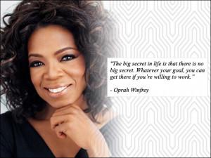 Most Famous Oprah Winfrey Quotes