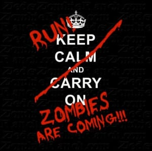Zombies are coming!!!