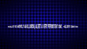Dark Blue Quotes Reality Albert Wallpaper with 1920x1080 Resolution