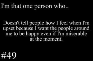 people #miserable #quote #life