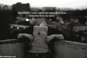 Heart so heavy, mind so frozen, dark nightmares every night.