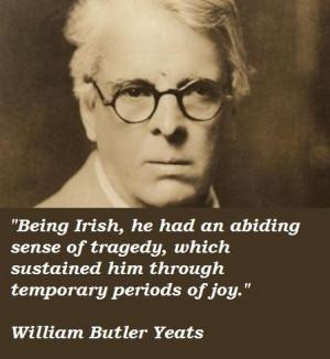 William butler yeats quotes 3