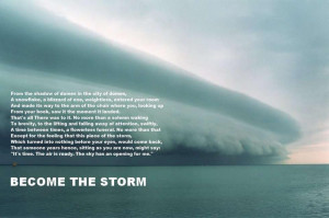 Beauty Storm Inspirational