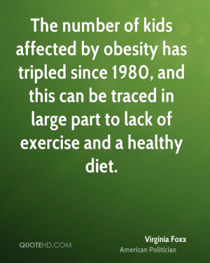 The number of kids affected by obesity has tripled since 1980, and ...