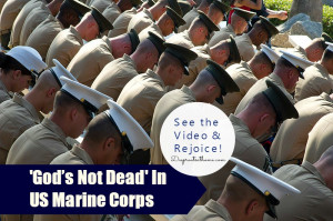 God Is Not Dead In US Marine Corps, 'no atheists in foxholes', quote ...