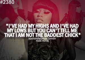 nicki minaj, quotes