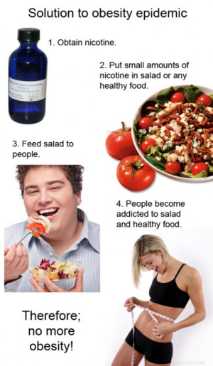 Solution to obesity epidemic