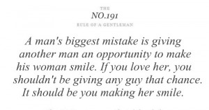 man's biggest mistake is giving another man – Tips & Rules Quote