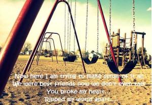 ... friendship brokenheart quotes lost friendship friendzone love friend