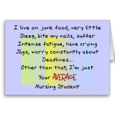Funny Nursing School Logic...