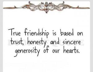Unconditional friendship