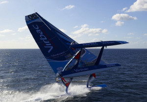 Full View Racing Sailboat...